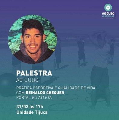 Palestra: Prática esportiva e qualidade de vida